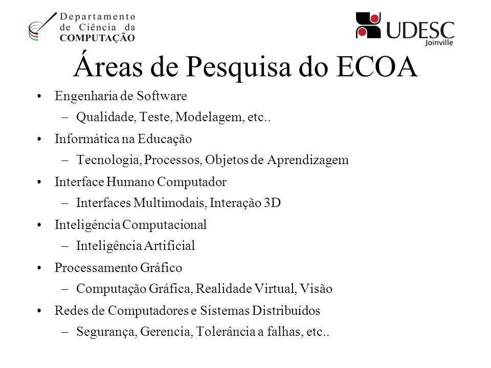 Áreas de Pesquisa do ECOA