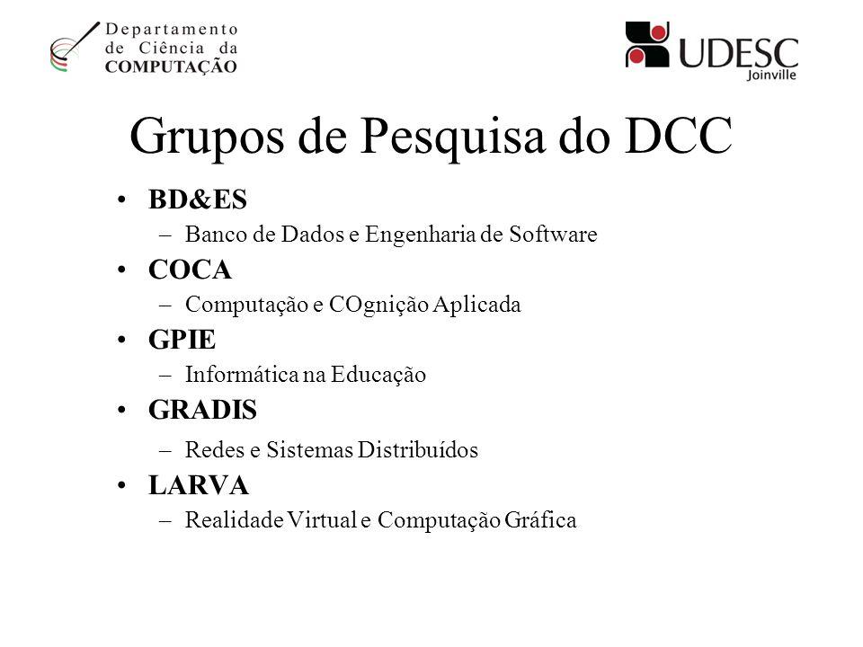 Grupos de Pesquisa do DCC