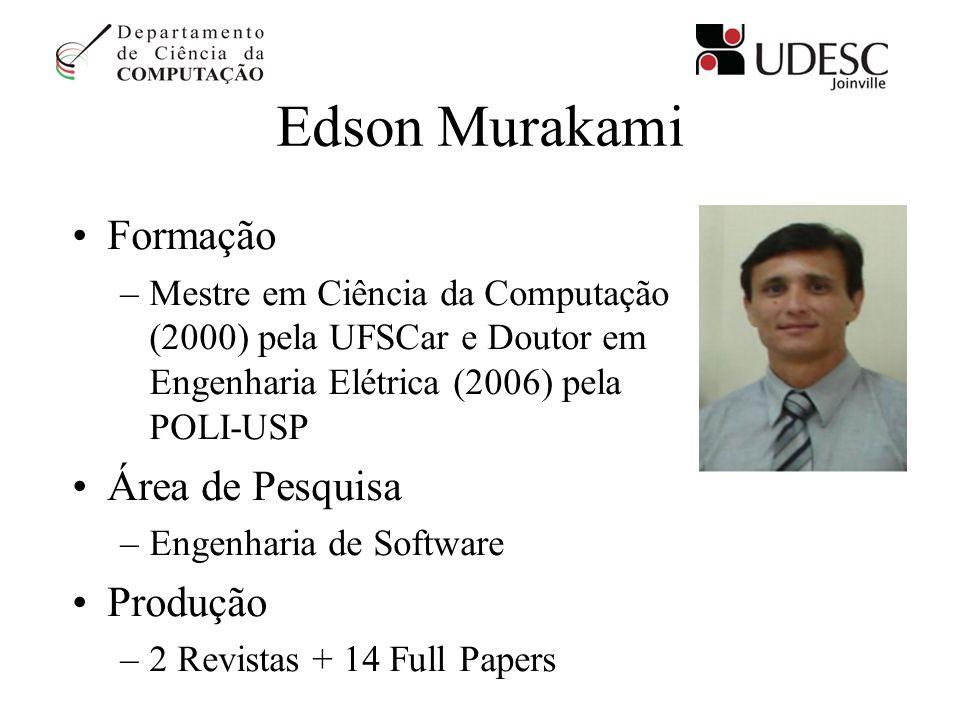 Edson Murakami Formação Área de Pesquisa Produção
