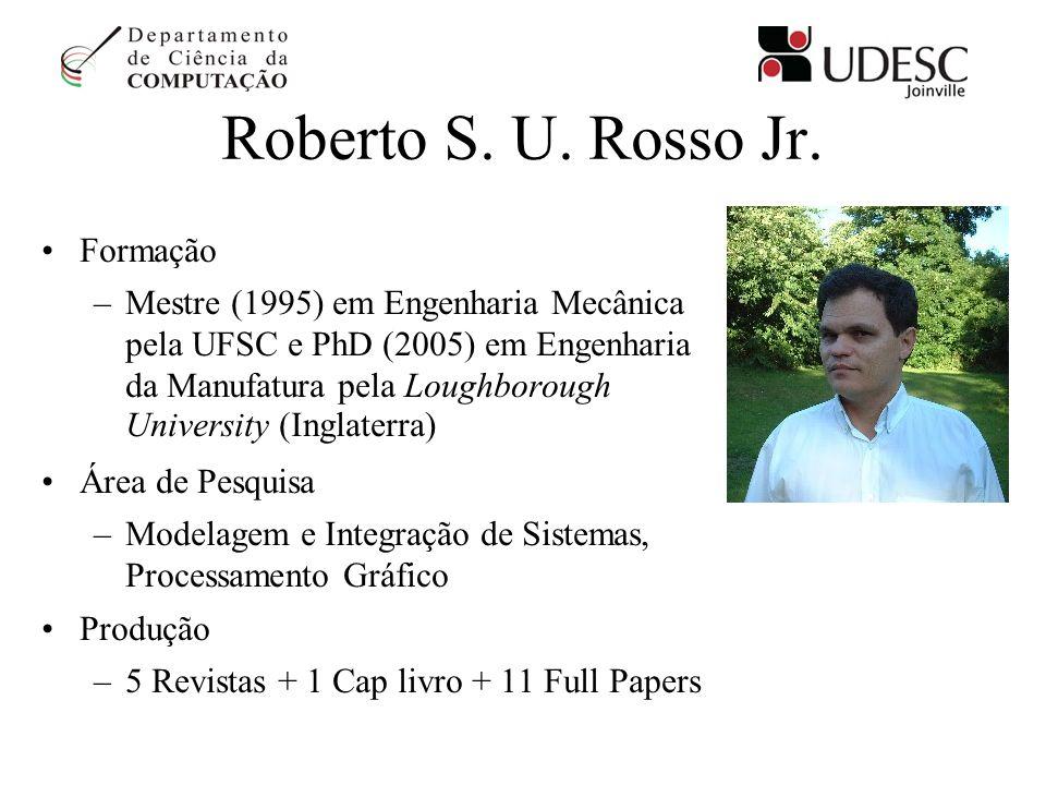 Roberto S. U. Rosso Jr. Formação