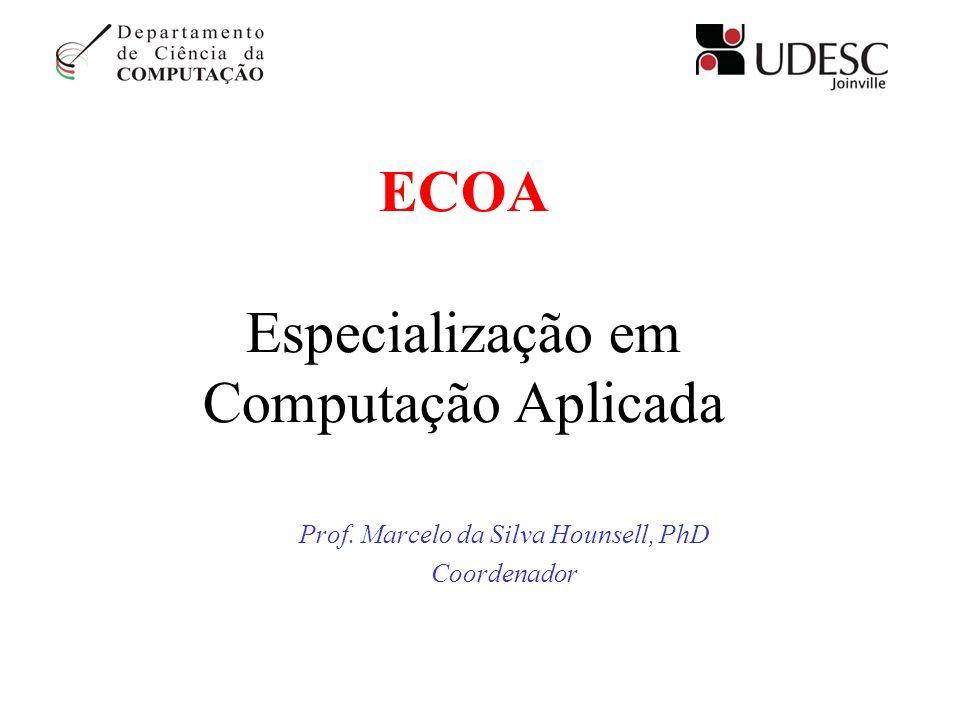 ECOA Especialização em Computação Aplicada