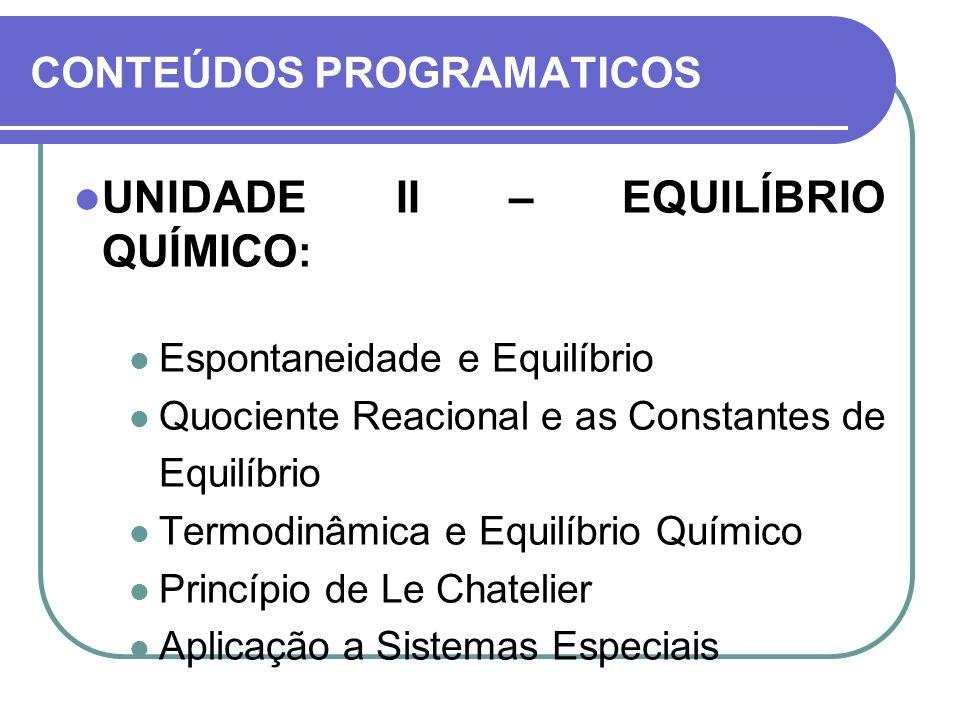 CONTEÚDOS PROGRAMATICOS
