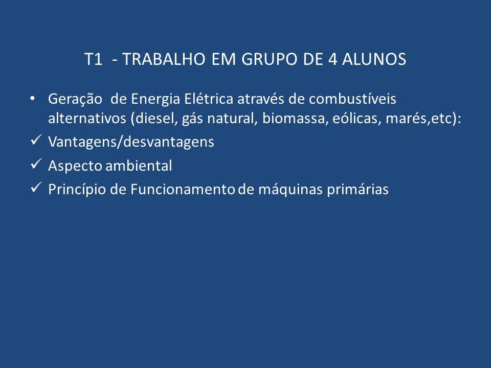 T1 - TRABALHO EM GRUPO DE 4 ALUNOS