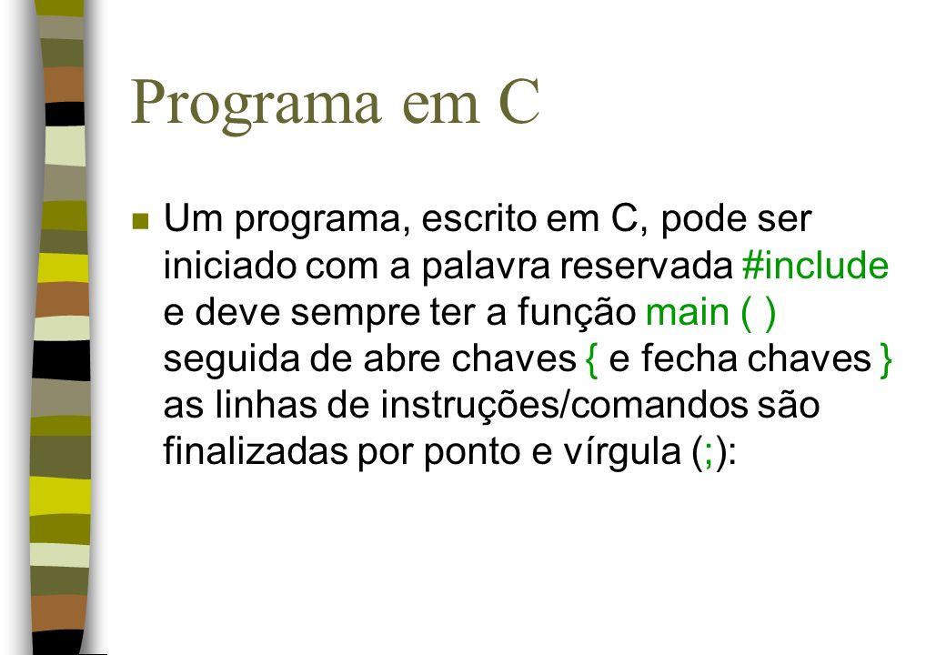 Programa em C