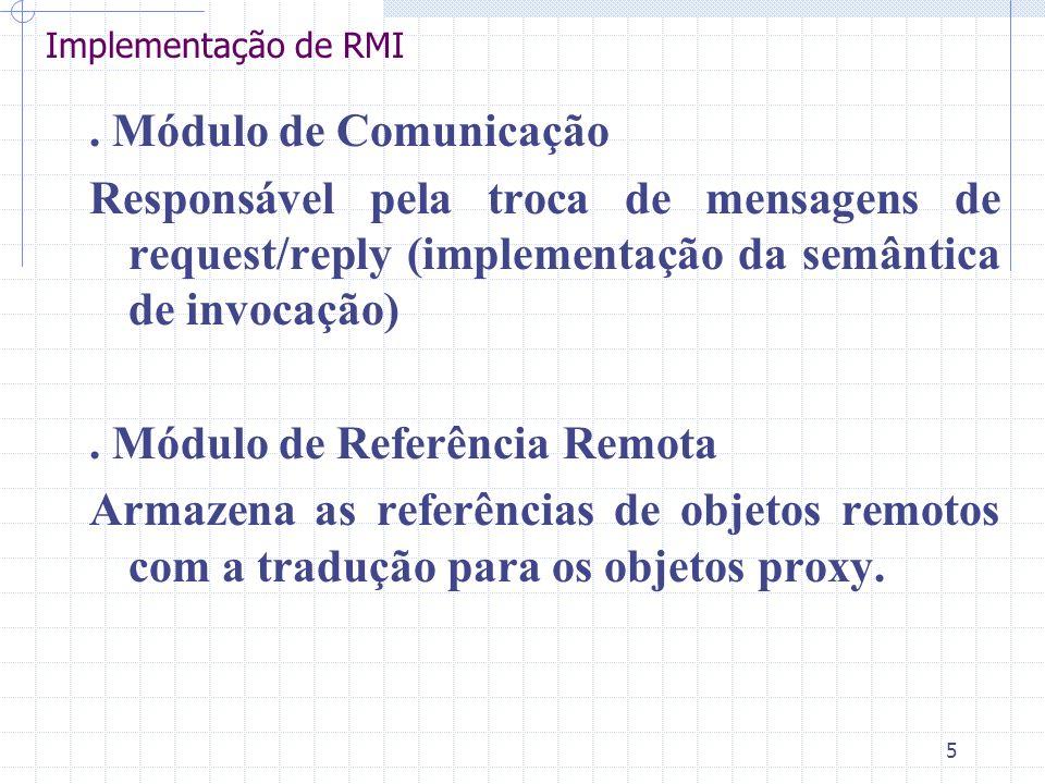 . Módulo de Referência Remota