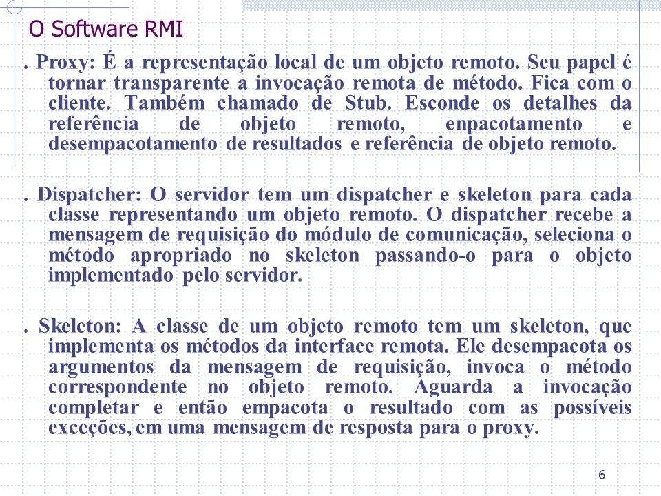 O Software RMI