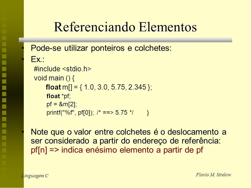 Referenciando Elementos