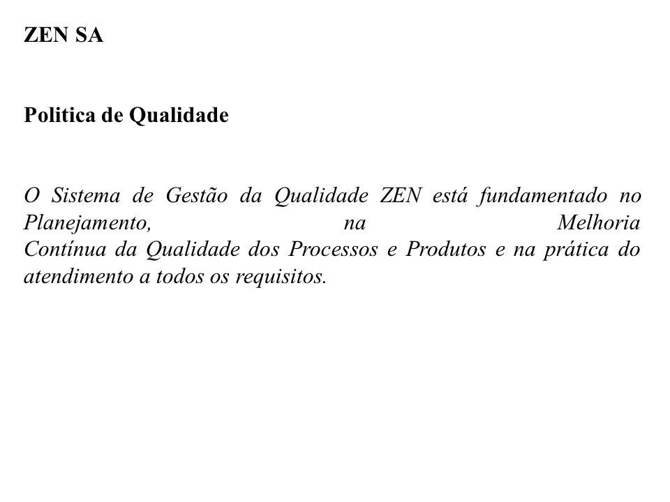 ZEN SA Politica de Qualidade.