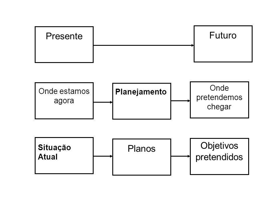 Objetivos pretendidos Futuro