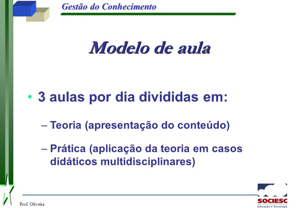 Modelo de aula 3 aulas por dia divididas em: