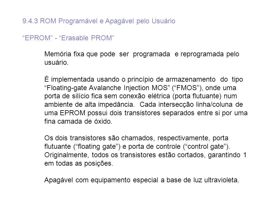 9.4.3 ROM Programável e Apagável pelo Usuário