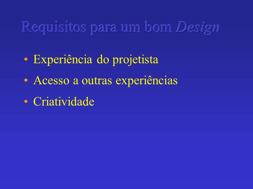 Requisitos para um bom Design
