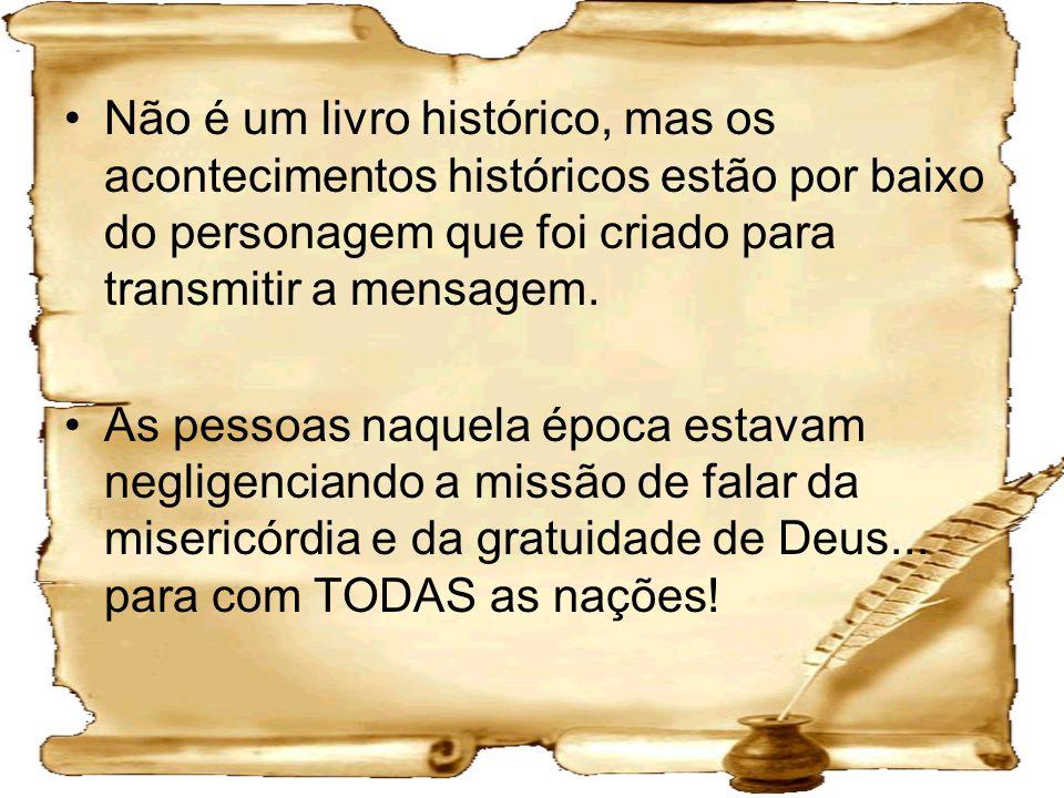 Não é um livro histórico, mas os acontecimentos históricos estão por baixo do personagem que foi criado para transmitir a mensagem.