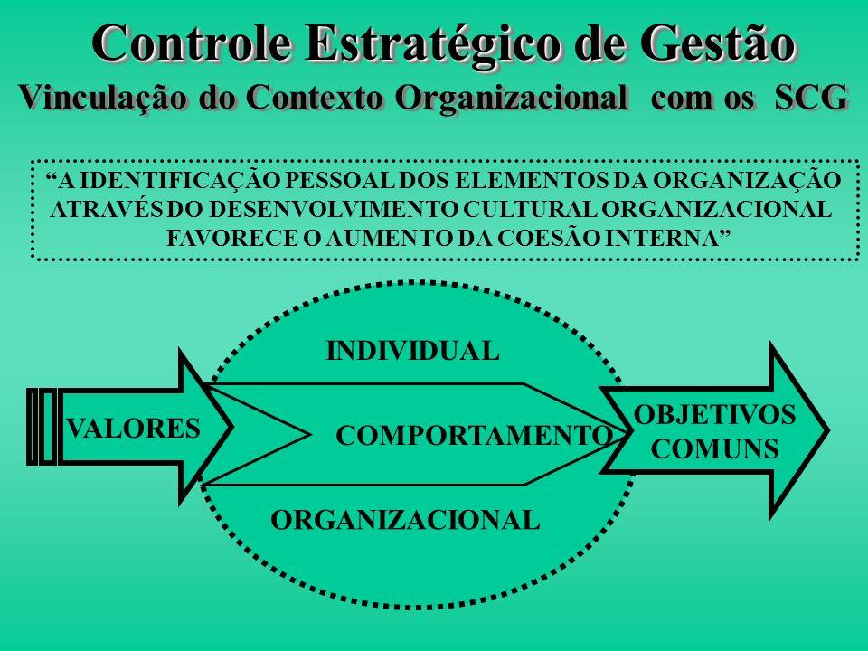 Controle Estratégico de Gestão