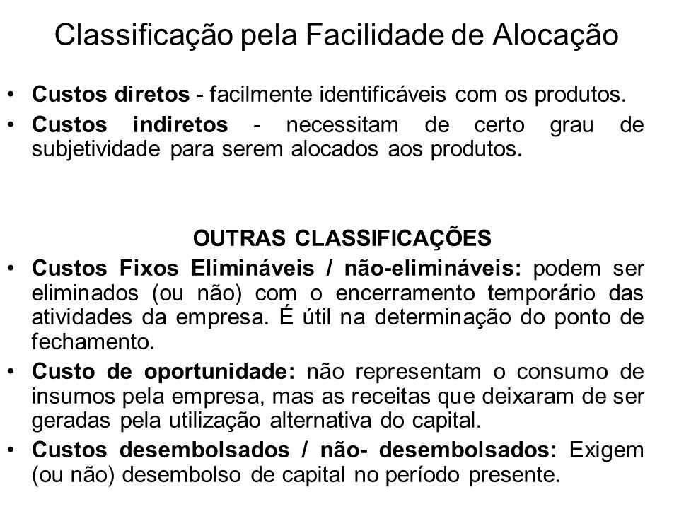 Classificação pela Facilidade de Alocação