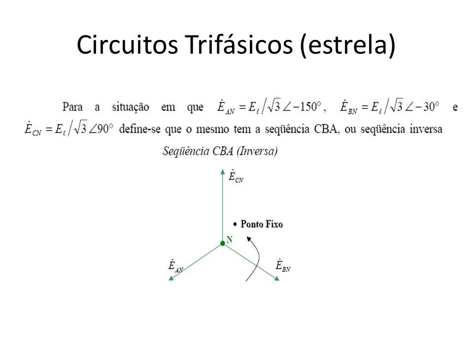 Circuitos Trifásicos (estrela)