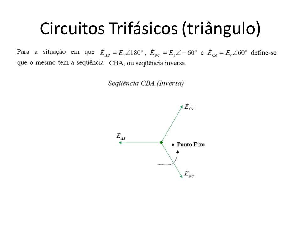Circuitos Trifásicos (triângulo)