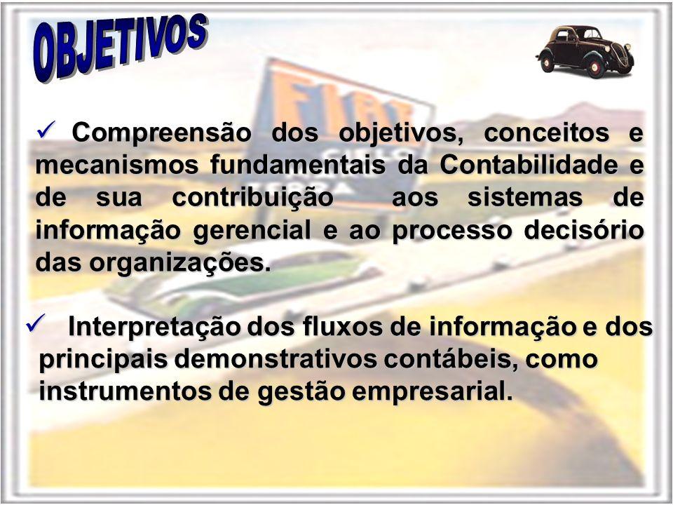 Interpretação dos fluxos de informação e dos