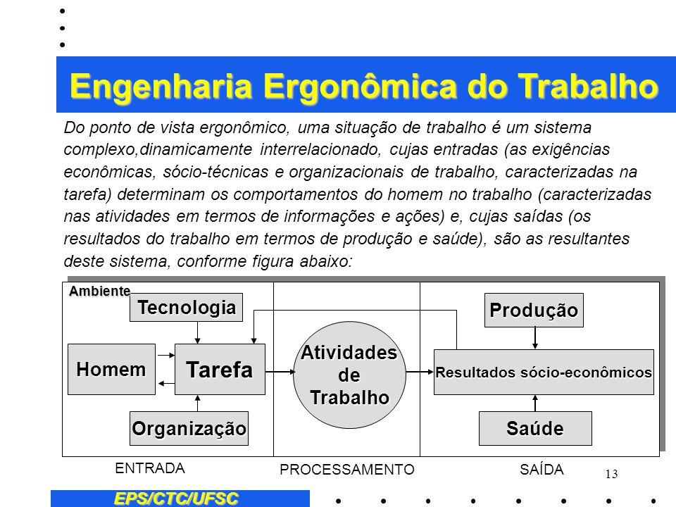 Engenharia Ergonômica do Trabalho Resultados sócio-econômicos