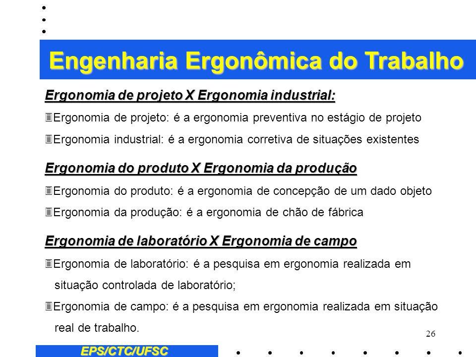 Engenharia Ergonômica do Trabalho