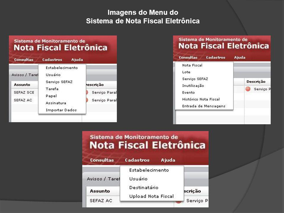 Sistema de Nota Fiscal Eletrônica