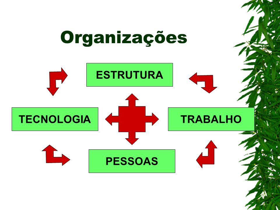 Organizações ESTRUTURA TECNOLOGIA TRABALHO PESSOAS