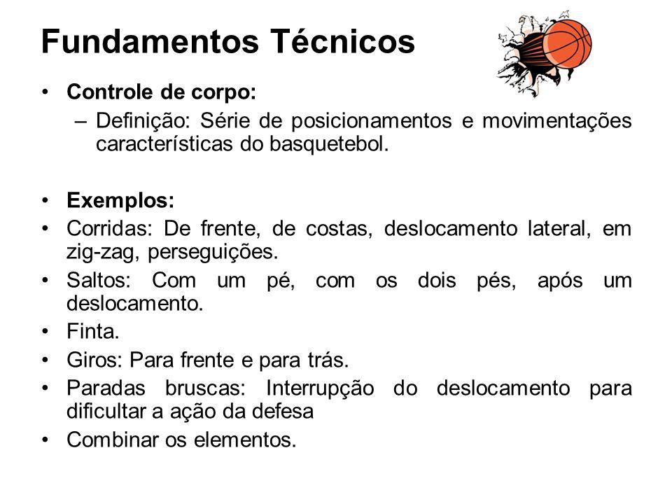 Fundamentos Técnicos Controle de corpo: