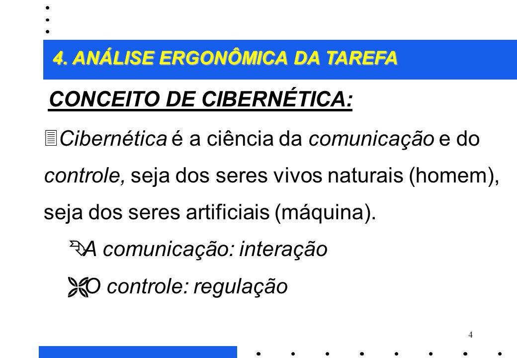 CONCEITO DE CIBERNÉTICA: