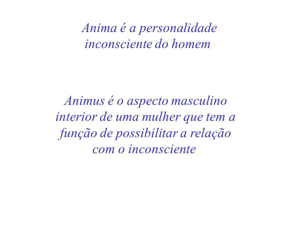 Anima é a personalidade inconsciente do homem.