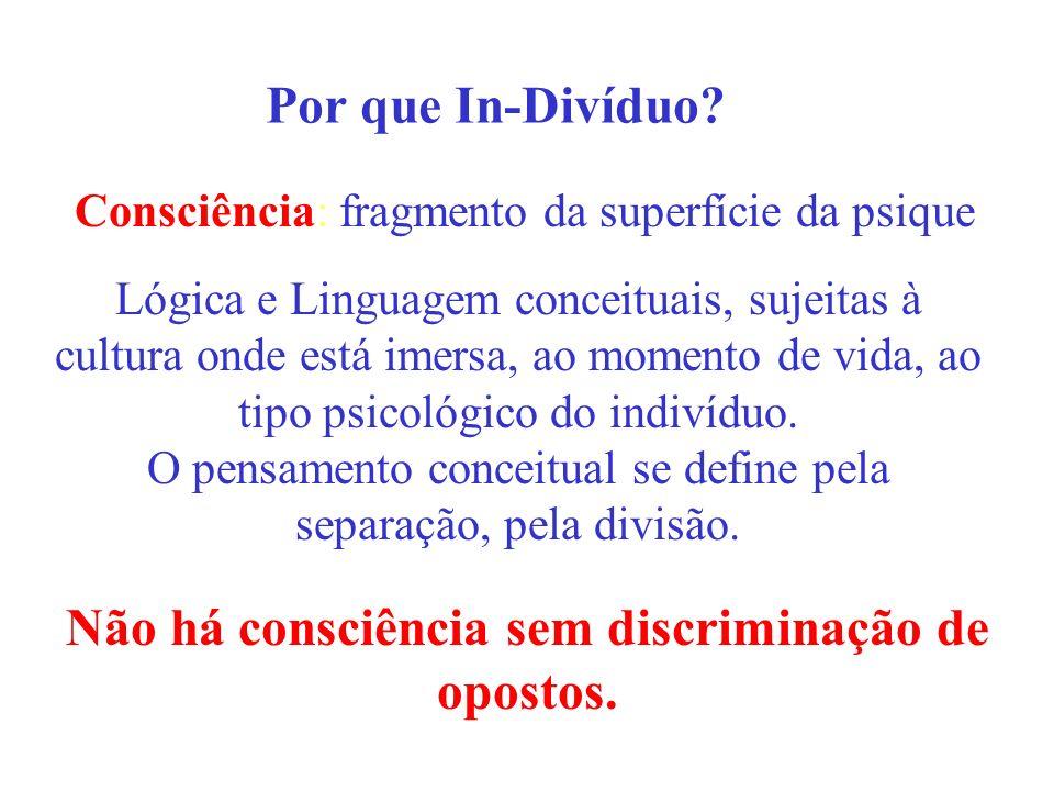 Não há consciência sem discriminação de opostos.