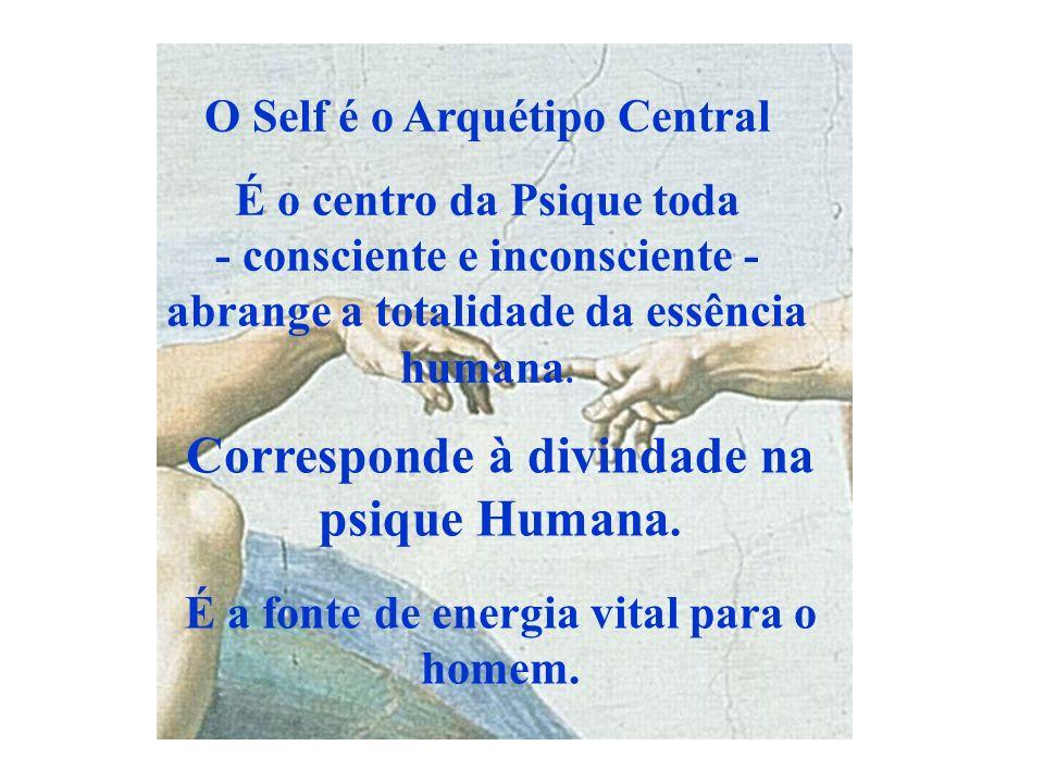 Corresponde à divindade na psique Humana.