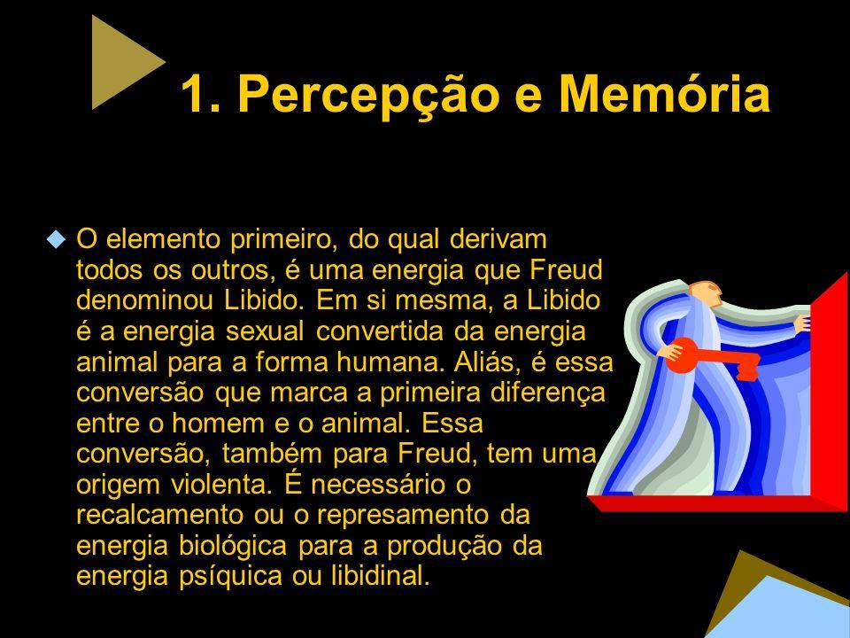1. Percepção e Memória