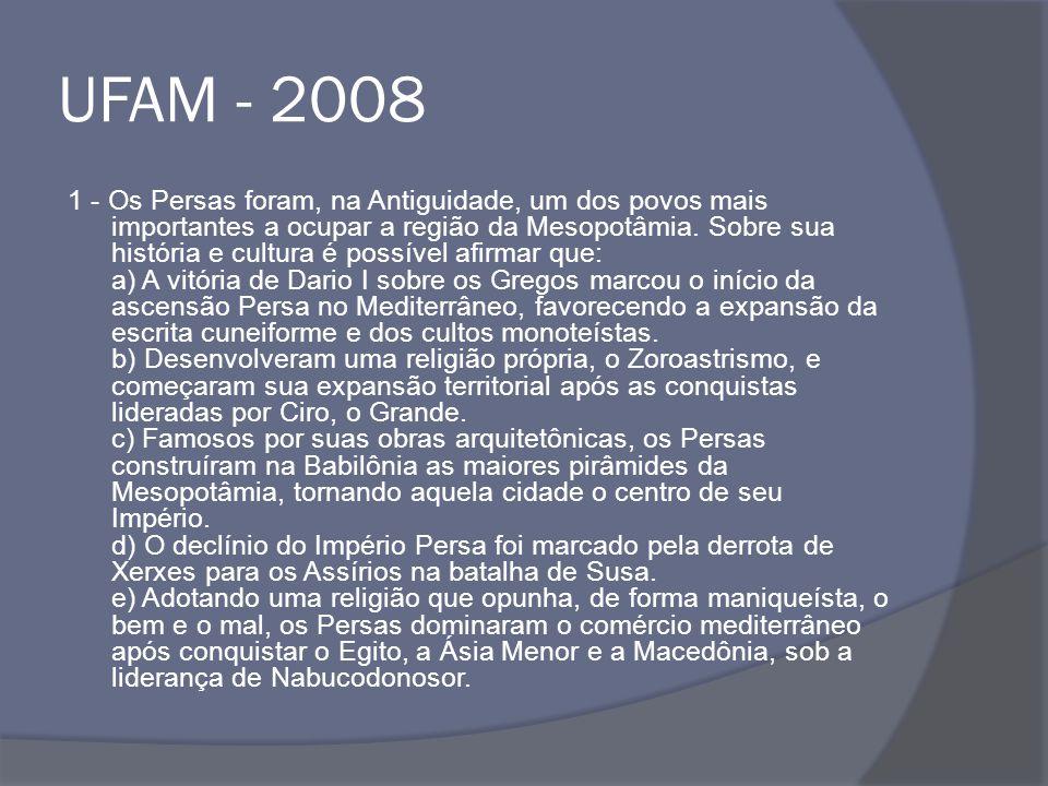 UFAM - 2008