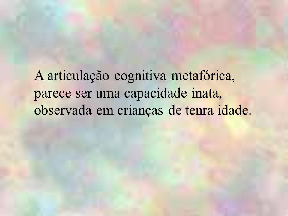 A articulação cognitiva metafórica,