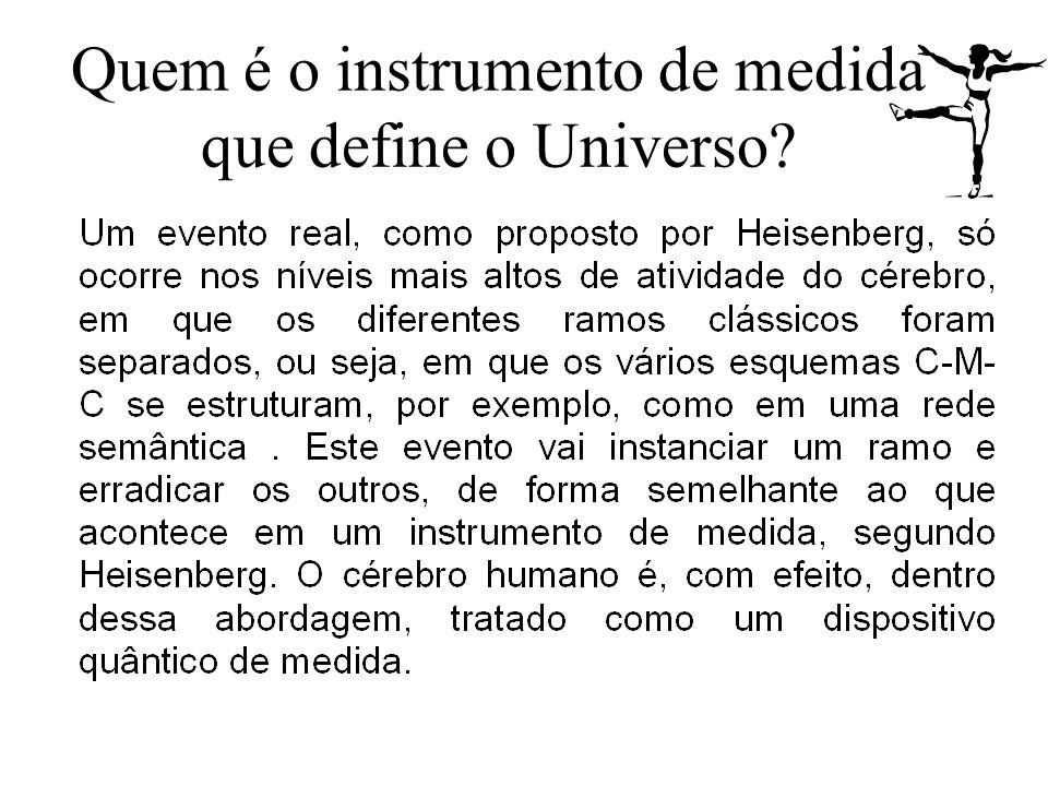 Quem é o instrumento de medida que define o Universo