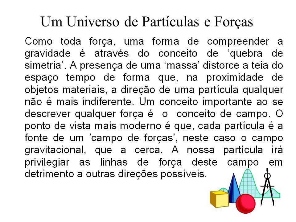 Um Universo de Partículas e Forças