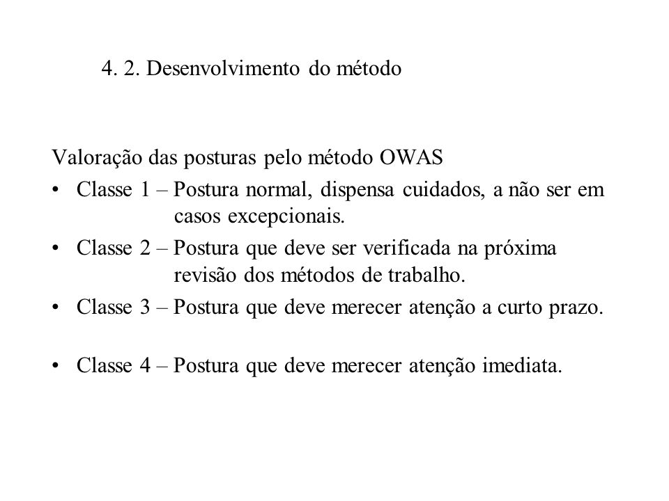 4. 2. Desenvolvimento do método