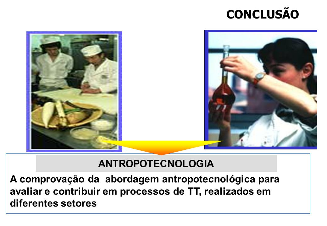 CONCLUSÃO ANTROPOTECNOLOGIA