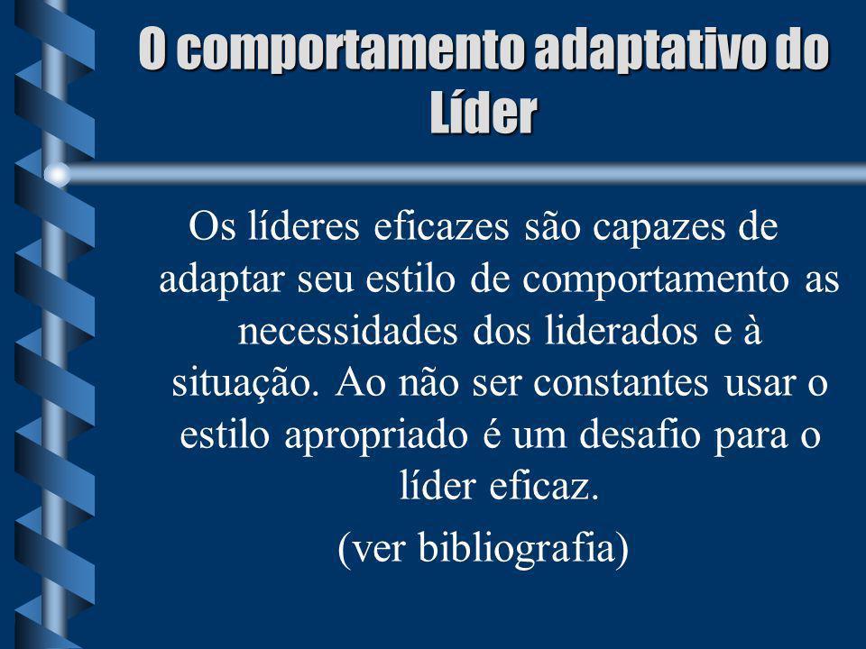 O comportamento adaptativo do Líder