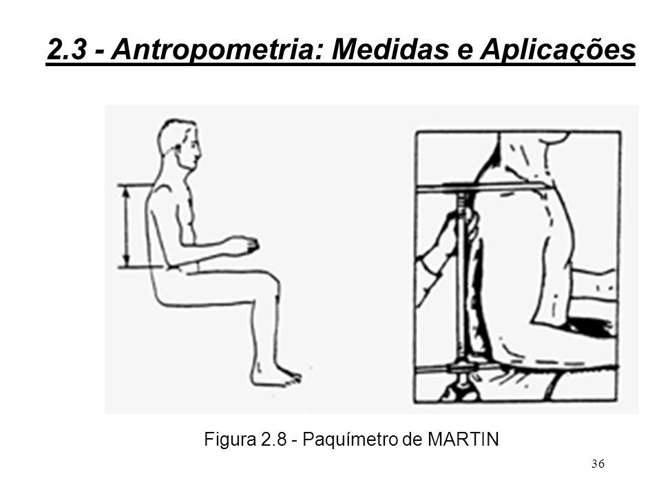 Figura 2.8 - Paquímetro de MARTIN