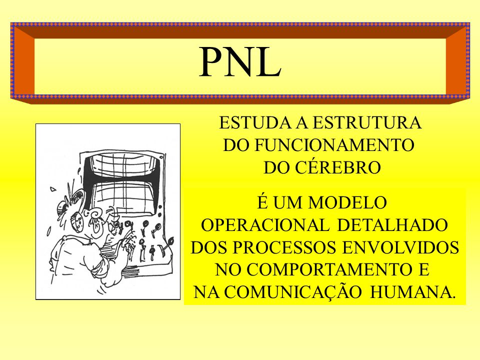 PNL ESTUDA A ESTRUTURA DO FUNCIONAMENTO DO CÉREBRO É UM MODELO