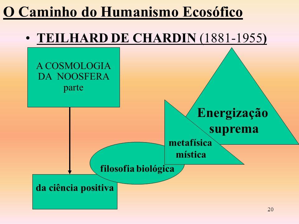 O Caminho do Humanismo Ecosófico