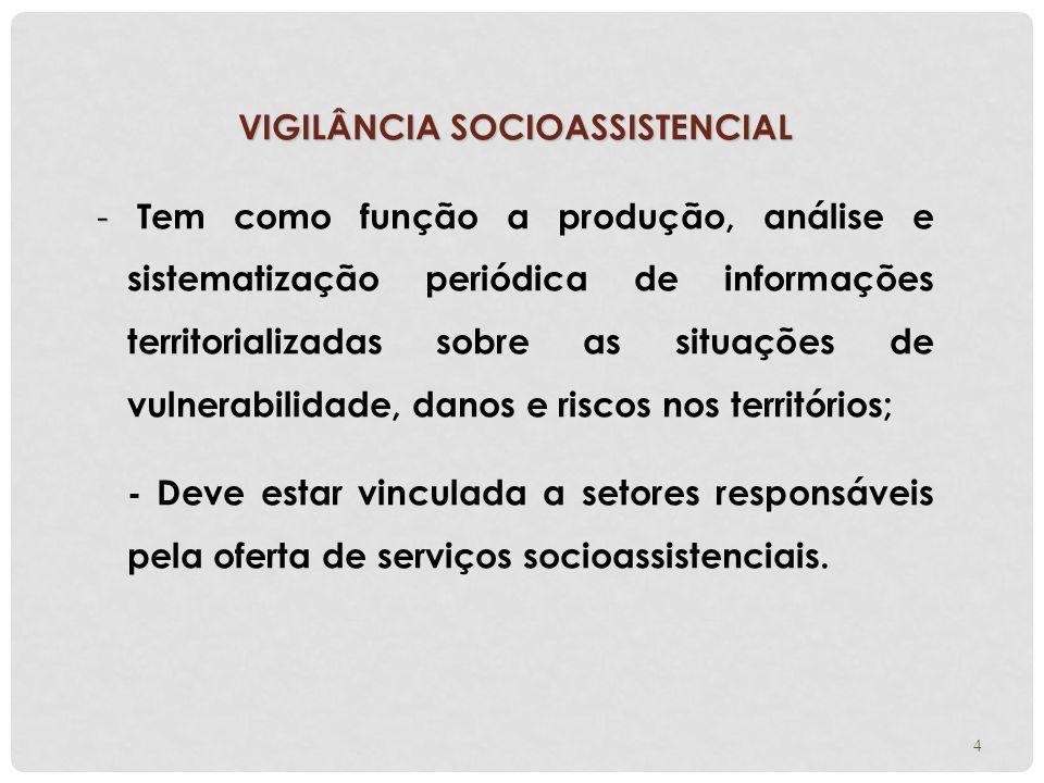 VIGILÂNCIA SOCIOASSISTENCIAL