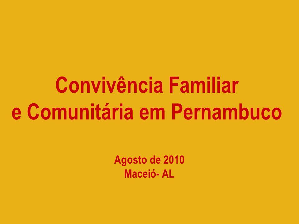 e Comunitária em Pernambuco