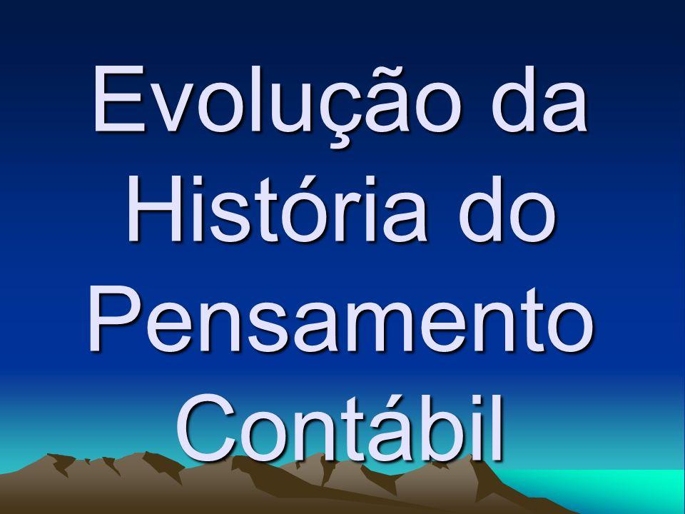 Evolução da História do Pensamento Contábil