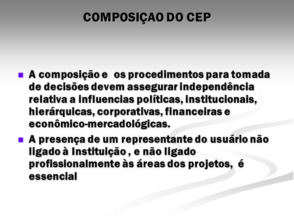 COMPOSIÇAO DO CEP