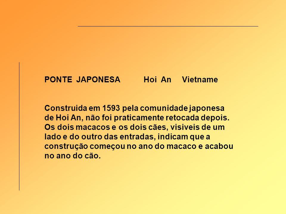 PONTE JAPONESA Hoi An Vietname