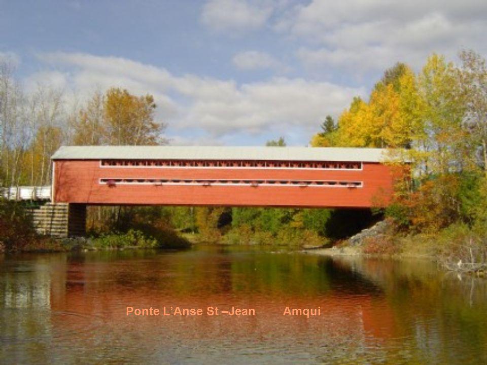 Ponte L'Anse St –Jean Amqui