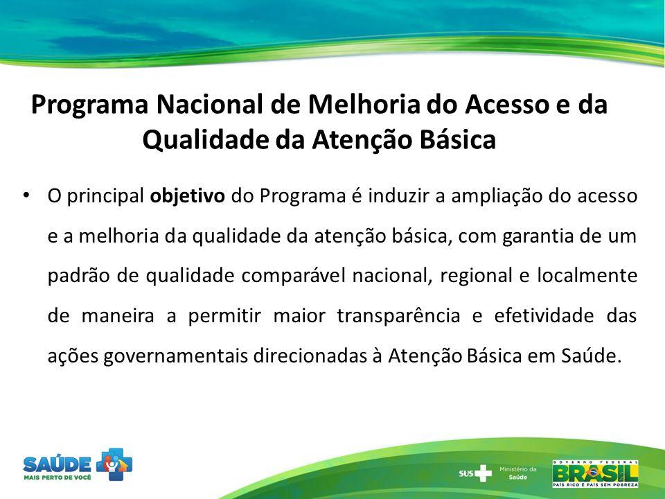 Programa Nacional de Melhoria do Acesso e da Qualidade da Atenção Básica