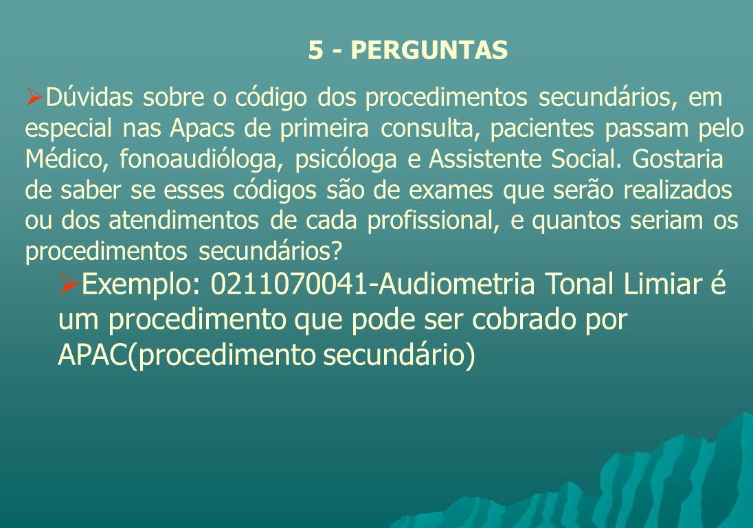5 - PERGUNTAS